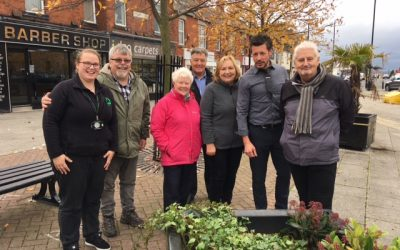 Councillors muck in to grow business in Shiney Row