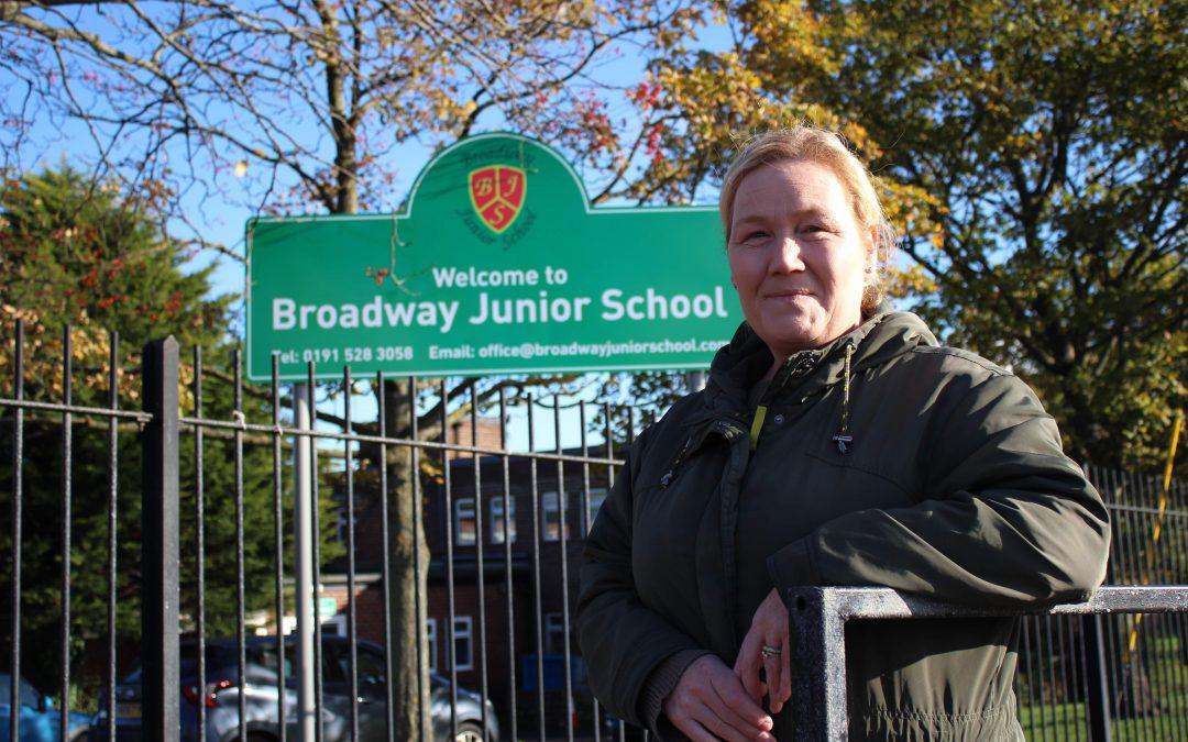 Speeders put on school crossing go-slow